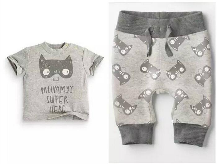 Fashion Baby clothing set Cotton babymmclothes meninos mini rodini roupa infantil menina baby outfits for 1-3Y(China (Mainland))
