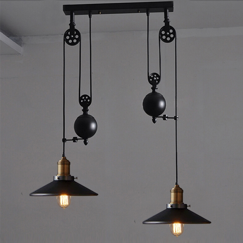 style pendant lamps black rise and fall lighting hanging kitchen lamp. Black Bedroom Furniture Sets. Home Design Ideas