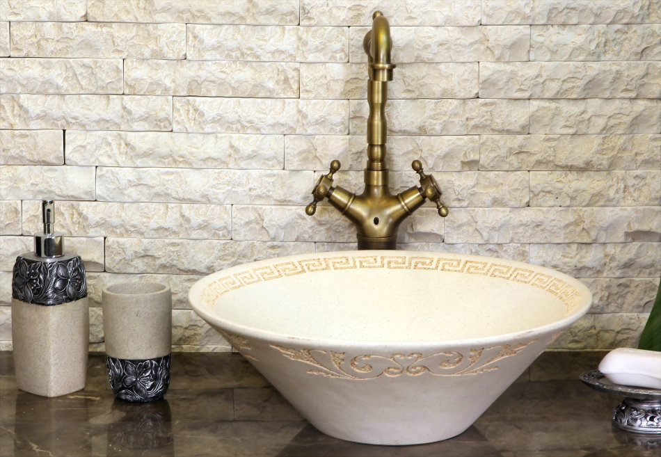 Luxury fashion meaka antique art wash basin wash basin counter basin sanitary ware papel de parede listrado(China (Mainland))