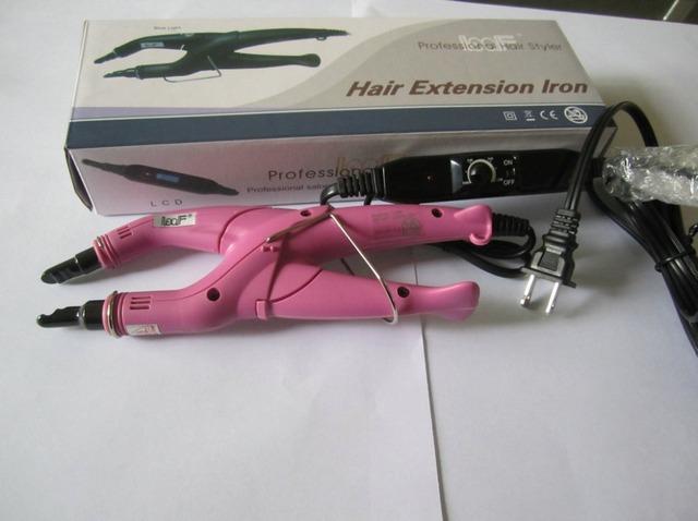 Горячие продажи розовый машина волос ЕС/ВЕЛИКОБРИТАНИЯ/США/АС plug волос тепла разъем ...
