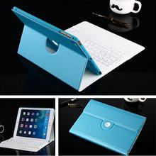 Ultra-thin Wireless Bluetooth Keyboard PU Leather Protective Cover Case for iPad Mini 1/2/3 Foldable Holder Keyboard for iPad(China (Mainland))