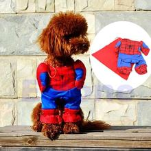 Buy 2016 Hot Sale Pet Cosplay Clothes Dogs Cats Spiderman Clothing Coats & Jackets Cape Costume Party Clothes Cosplay Coats for $5.64 in AliExpress store