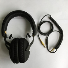 Original Monitor Headphone DJ Studio Monitoring Headset Hifi Headphones Guitar rock Headband Headphone with Mic(Hong Kong)