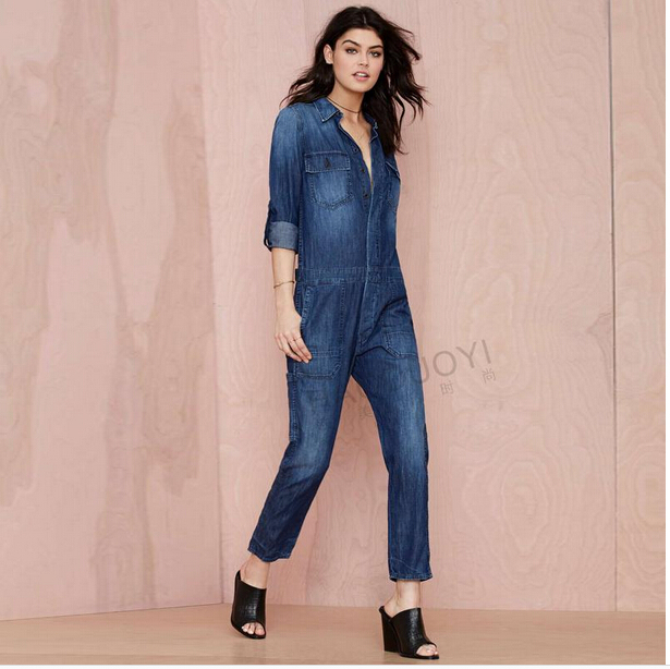 Unique Womens Denim Jumpsuit | Fashion Ql