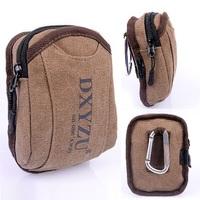 100% cotton Canvas waist bag men molle money pouch,casual fanny pack for women and men running bag,pochete esportiva,marsupio