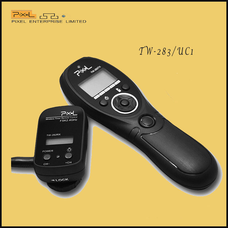 Pixel TW-282/UC1 Wireless camera Shutter Release Remote Timer Control For Olympus E-620 E-600 E-550 E510(China (Mainland))