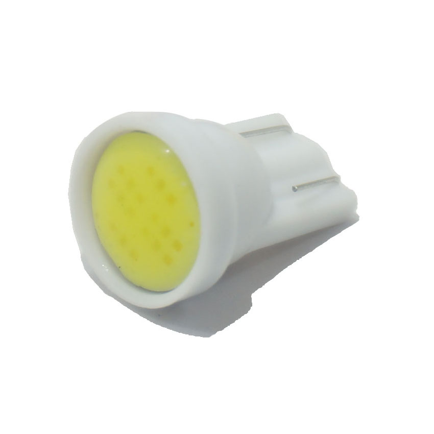 500pcs/lot T10 194 168 W5W 6led t10 cob led white 2W High Power LED Car Door Lamps Indicator Light Reading Light Bulbs red blue(China (Mainland))