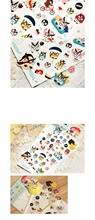 1 Pc / Pack , Funny Japan Style Cartoon Animal Owl Decoration Sticker,Gift Stationery Supplies