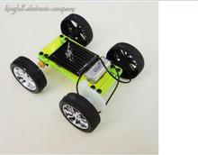 Solar Toy Car / Educational Toys Assembly Model Diy Production Technology Green(China (Mainland))