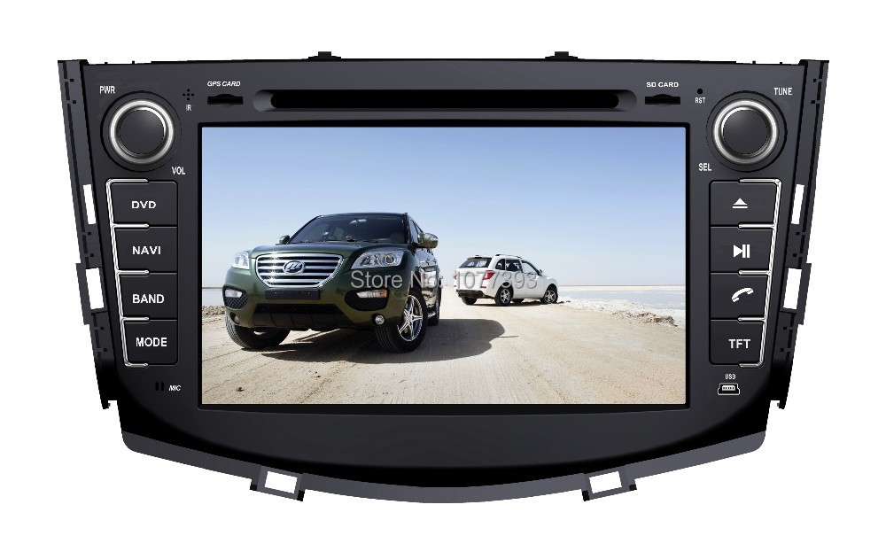 2DIN Car Radio Audio DVD Player Android 2.3.4 GPS WiFi 3G TV iPod Games BT For LIFAN X60 SUV 2011+ Retail/Pcs Free Shipping(China (Mainland))