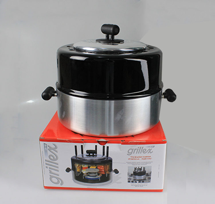 Portable pot cover BBQ grill convenient to carry camping stove(China (Mainland))