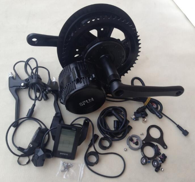 48v 350w 8fun/bafang C965A motor BBS01 crank Motor trike ebike kits(China (Mainland))