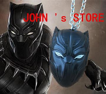 Freeshipping 20pcs a lot Black Panther necklace SJDKN03(China (Mainland))