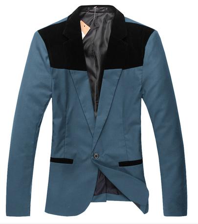 Пиджак мужчины костюмы приталенный fit блейзеры пальто