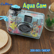 Aqua Camera Waterproof Camera Digital Camera Waterproof  35mm Disposable Camera Single Use Underwater(China (Mainland))