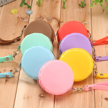 1Pcs Cute Children Coin Purses Macaroon Wallet Coin Key Earphone Box Holder mini lovely Silicone Kids Wallets small wallet