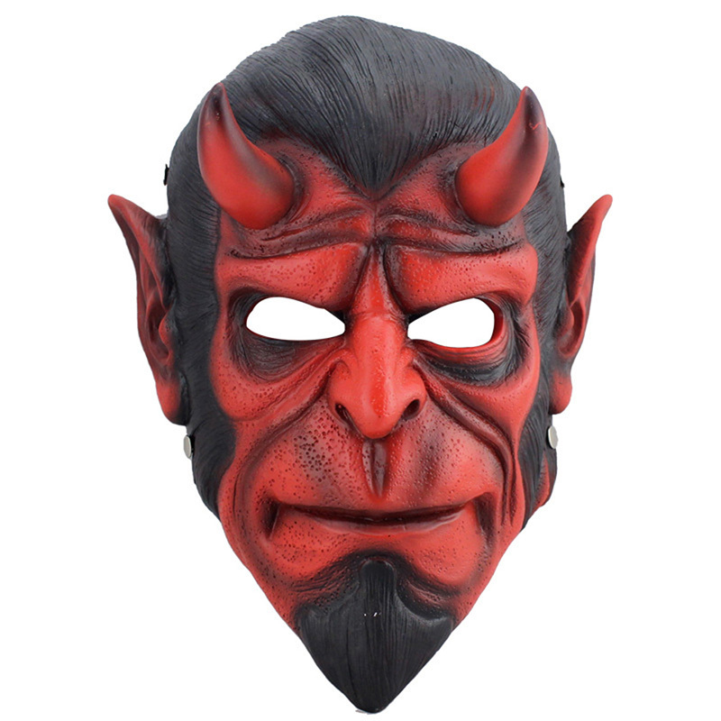 Resin Death Resin Mask Animal Hellboy Scary Mask MascaraTerror Masquerade Halloween Props Collection Mask Cosplay Fancy Costumes(China (Mainland))