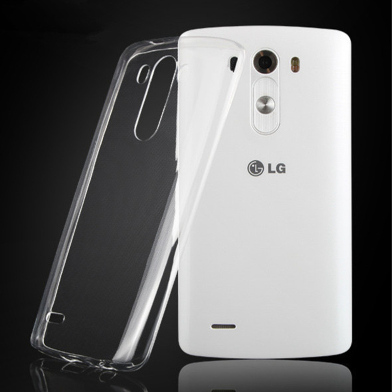 For LG G2 G3 G4 G5 G4C G2 Mini G3 Mini G3s Beat Transparent Clear Soft TPU Gel Case Slim Crystal Cover 2016 NEW(China (Mainland))