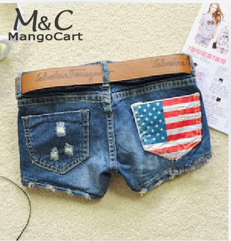 Женские шорты Brand New#M_G