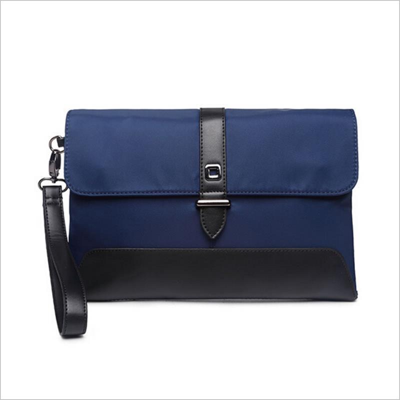Hot ! Simple Design Waterproof Nylon Women Day Clutches Single Zipper Large Wristlet <font><b>Wallets</b></font> <font><b>Smart</b></font> Phone Pocket Evening Bags