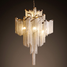 Luxury Waterfall Chandelier Hotel Ceiling Lamp Villa Top Grade Lighting Meeting Hall Light With 1m Adustable Chain Hotel Decor(China (Mainland))