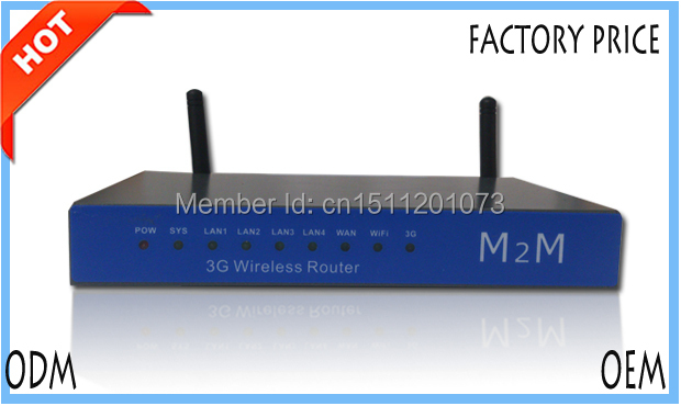 Openwrt Industrial 3G Wireless Router SIM Slot WCDMA FDD LTE for video monitoring system, Kiosk, Vehicle(China (Mainland))