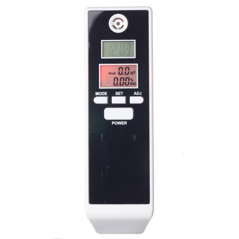 10pcs Factory Supply CE Red Backlight Professional Digital Breath Alcohol Tester Portable Breathalyzer Detector Dual LCD Display(China (Mainland))