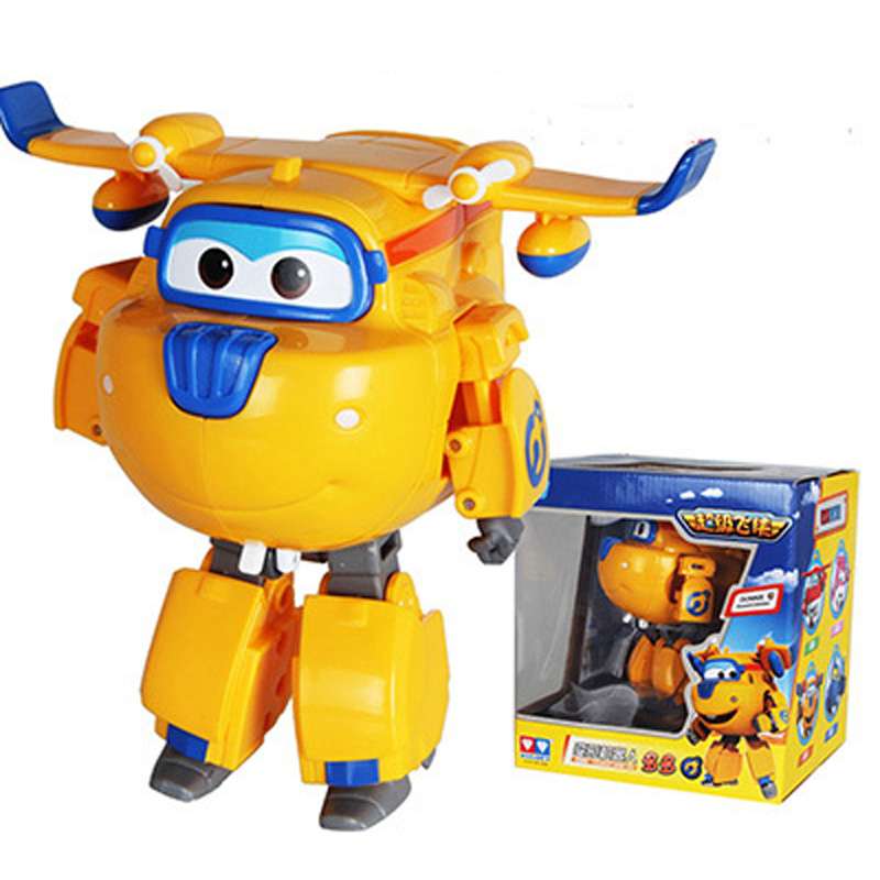HOT!! ABS Super Wings Toys Transformation Figure Action Toys Aircraft Robot Deformation Toy Boys Toys Gifts(China (Mainland))