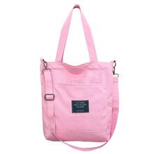Bolsa da lona Das Mulheres Bolsa de Ombro com Alça Removível Multi Bolsos Crossbody Resistente Ao Desgaste Moda Casual Zipper Bag #1114(China)