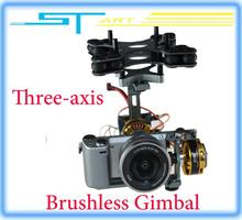 Brushless Three-axis Gimbal Kit w/4108 Motors for Sony NEX ILDC Camera Aerial Photography FPV Free shipping 2013 new wholesale
