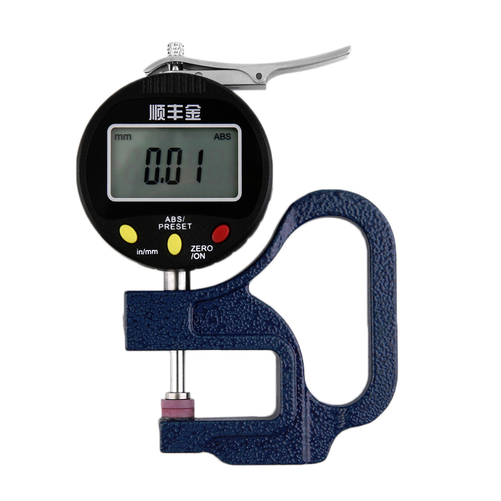New Precision 0-12.7mm 0.01mm Digital Electronic Measuring Thickness Gauge Meter  new arrival