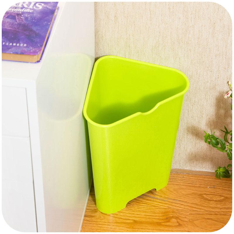 Online buy wholesale wastebasket bathroom from china wastebasket bathroom wholesalers - Corner wastebasket ...