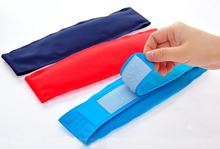 Medical cooling headband children/adults fever cold ice belt cold heat physical cooling therapy bags(China (Mainland))