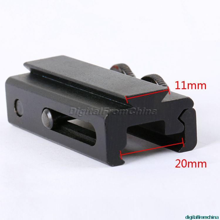20mm to 11mm Picatinny Weaver Adapter Dovetail Rail Extension Weaver Scope Mount Base Adapter Hunting Scopes Mount<br><br>Aliexpress