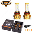 Auxbeam 2pcs H11 LED Headlight Bulbs for Car 60W pair 6000K CREE Led Chips Driving Headlamps