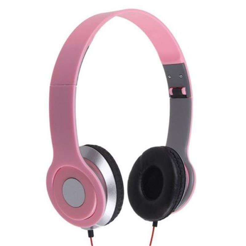 Wired Foldable Over-Ear Headphone Earphone Ear Pad For Sony MDR-V150 Pink Free shipping(China (Mainland))