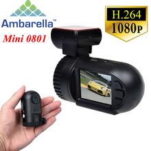 "1.5"" Ambarella A2S60 Super Mini 0801 Full HD 1080P Car DVR Dash Cam Camera Auto Video Camcorder Registrator With GPS Logger(China (Mainland))"