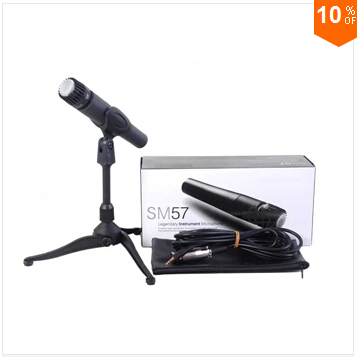 Free Shipping! High-Quality! Clear Sound Handheld Karaoke Microphone Mike SM 57 57LC SM57 SM57LC(China (Mainland))