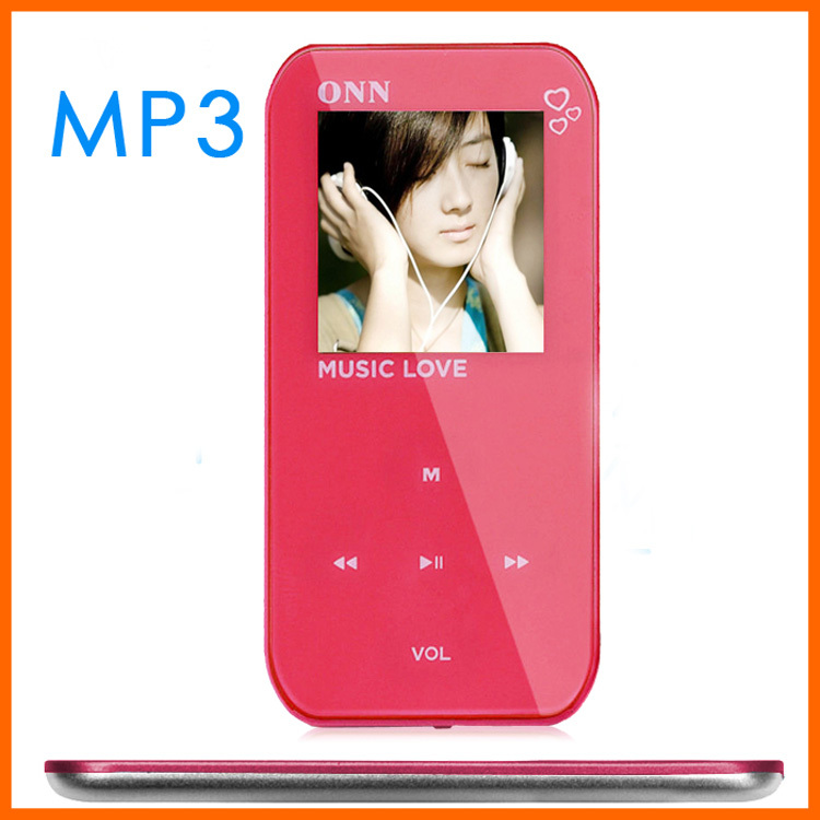 4g Mini mp3 player, voice recorder has a lovely screen mp3 fm sports(China (Mainland))