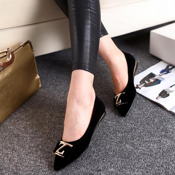2015 Spring new Fashion women shoes solid candy color tip shoes women flats femininos princess casual Bow pointed toe shoes V373<br><br>Aliexpress
