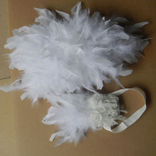 Free shipping, baby's chandella feather diaper cover set for photo shooting  #FDC13001(China (Mainland))