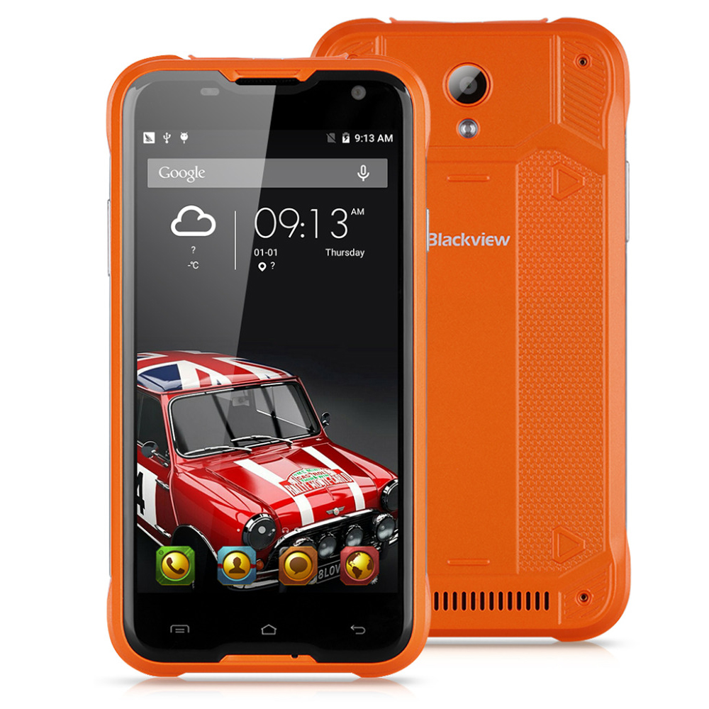 Blackview BV5000 4G LTE Waterproof Smart Phone MTK6735 Quad Core 2GB+16GB 8MP Android 5.1 Dual SIM Outdoor Mobile phone(China (Mainland))