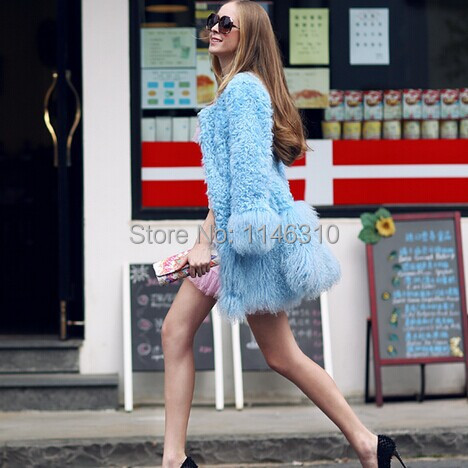 Fur coat the new 2014 Pink Doll Girl winter fur control in the long section of real hair lady furОдежда и ак�е��уары<br><br><br>Aliexpress