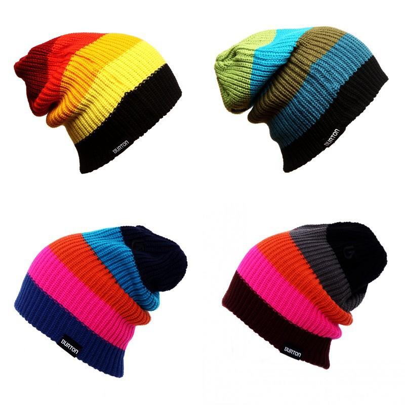Вязаные шапки для сноубордистов
