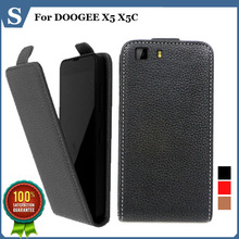 Factory price , new style flip PU leather case open DOOGEE X5 X5C, gift - Super store