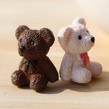Bear Cartoon Animals Miniature Figurines Toys Cute Lovely Model Kids Toy 2cm OPP PVC Japan Anime Children Action Figure. PY079(China (Mainland))