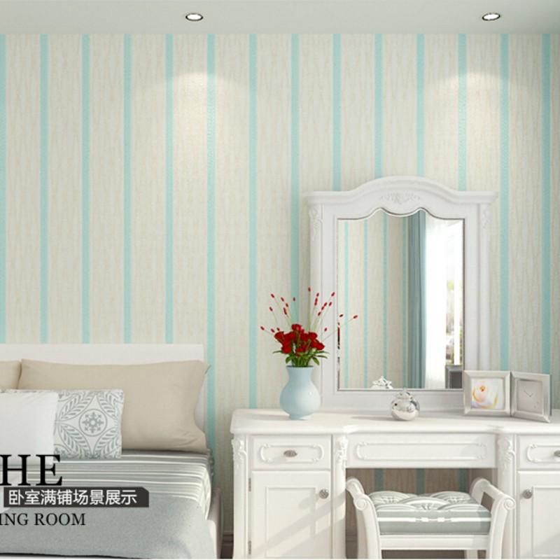 Pintar pared a rayas o verticales elegant papel pintado papel pintado rayas verticales living - Papel pared rayas verticales ...