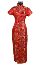 Buy Red Chinese traditional Women's Long Qipao Cheong-sam Dress Size S M L XL XXL XXXL for $16.43 in AliExpress store