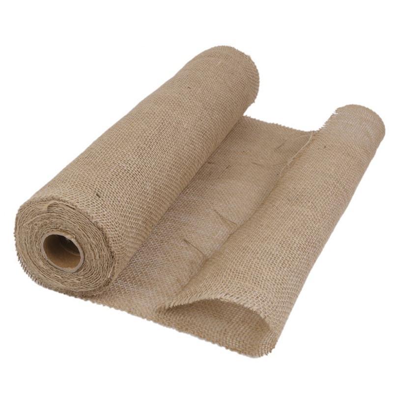 Popular burlap jute fabric buy cheap burlap jute fabric - Chemin de table en toile de jute ...