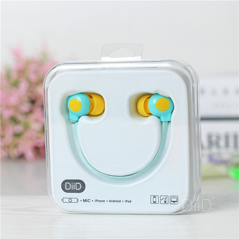 Quality Cartoon Student In Ear Headset With Mic Earphone For iphone 5 5S 6 samsung Media
